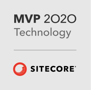 Sitecore Technology MVP 2020